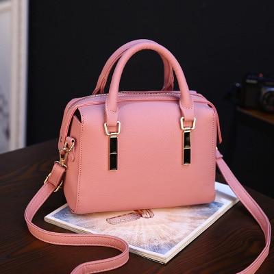 Nuevo bolso de las mujeres dama de la moda de Boston bolsas bolso Crossbody del