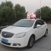 P3 двойные размеры Цифровой автомобиль Топ светодиодный экран такси топ дисплей