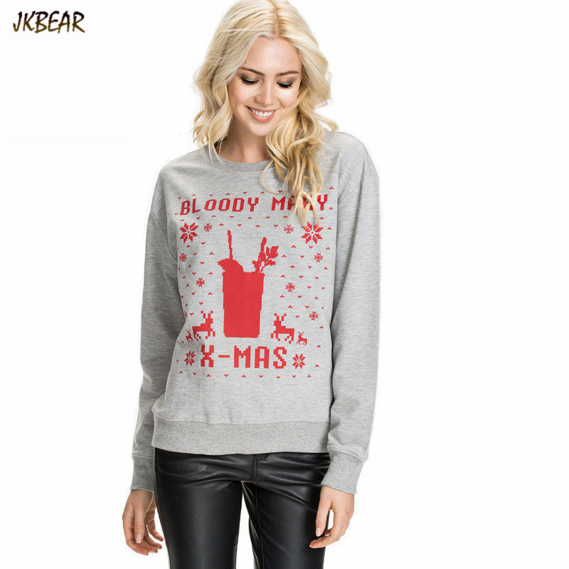 New arriving Bloody Mary X mas Print Women's Ugly Christmas ...