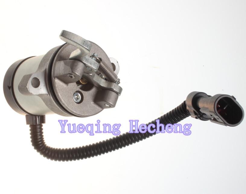 Fuel Shutoff Solenoid Valve 04103812 04103808 F- F3L F3M F4L F4M 1011 2011 3924450 2001es 12 fuel shutdown solenoid valve for cummins hitachi