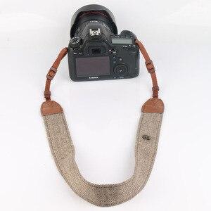 Image 3 - 10 ピース/ロットカメラショルダーストラップレトロスタイルストラップのショルダーストラップ一眼レフカメラといくつかのマイクロ シングルカメラ