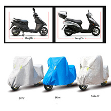 Motorcycle Cover Waterproof Outdoor Uv Protector Bike Rain Dustproof Motorbike Motor Scooter M/L/XL/XXL 1.6M-2.5M