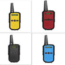 4PCS WLN KD-C50 2w Small size cheap uhf handheld PMR 2 way radio FMR Walkie Talkie Transceiver Communicator(China)