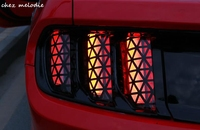 PVC Original Design Car Taillight Film Sticker Paper For Ford New Mustang 2015 2017