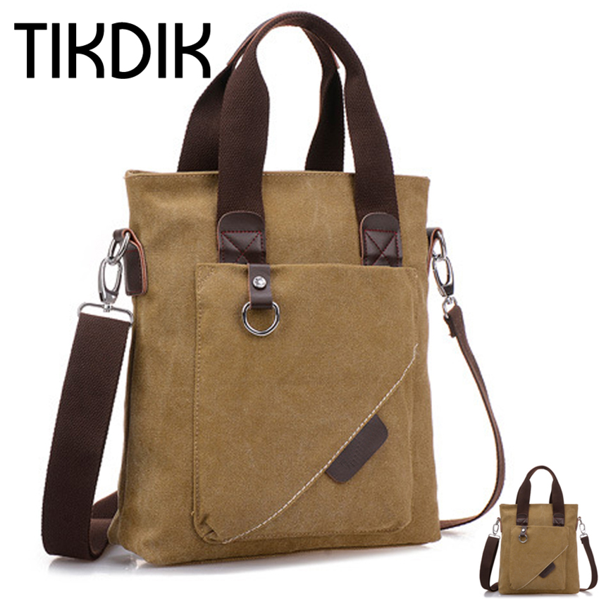Canvas Briefcase Multifunction Single Shoulder Crossbody Kotid A4-dokumentidele Messenger Kotid Käekott Tote Bag kotti execiva