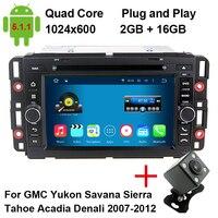 MJDXL Android 5 1 1 Car DVD Head Unit For GMC Chevrolet Chevy Yukon Sierra Tahoe