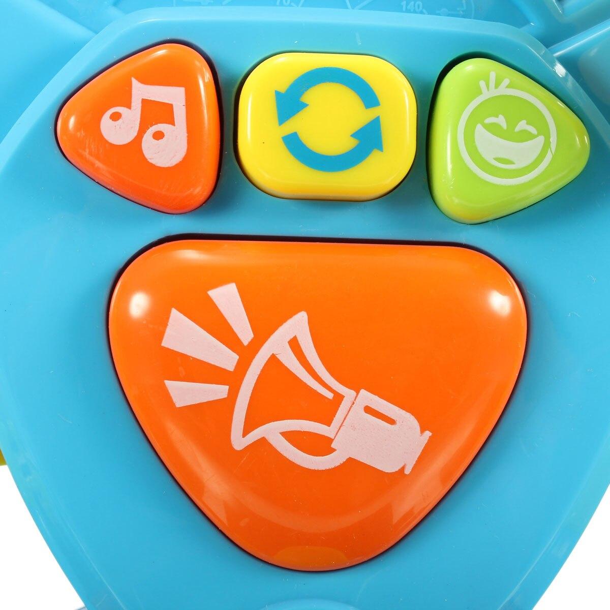 Детские музыкальные огни транспортировки Инструменты образование интеллект Игрушечные лошадки многофункциональный руль Игрушечные лоша...