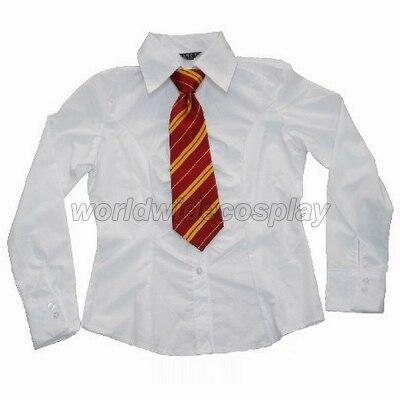 Maison Gryffondor Cosplay Pull Chemise Cravate Insigne De Harry