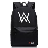 2016 Fashion Alan Walker Backpacks For Teenagers Faded Electronic Music School Bags Candy Color Mochila