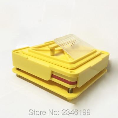 1Set Size 0# 100Holes Capsule Powder Filling Machine, Pharmaceutical Empty Capsule Filling Maker, Yellow Capsule Filling Mold capsulcn100m semi automatic capsule filling machine 0 capsule filling machines