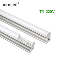 LED Tube T5 Integrated Light 220V 240V 300mm 6W 600mm 10W T5 LED Tube Wall Lamps Cold Warm White 1ft 2ft T5 tube lamp(China)