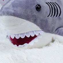 Shark Plush Toys Sweet Cute Lovely Stuffed Animals Baby Kid Toys Birthday Christmas Gift 20x45x18cm PRDTD Plush Dolls for Girls