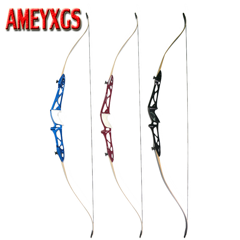 66inch Archery Takedown Recurve Bow Hunting 12lbs-28lbs Longbow Adult Shooting Accessory