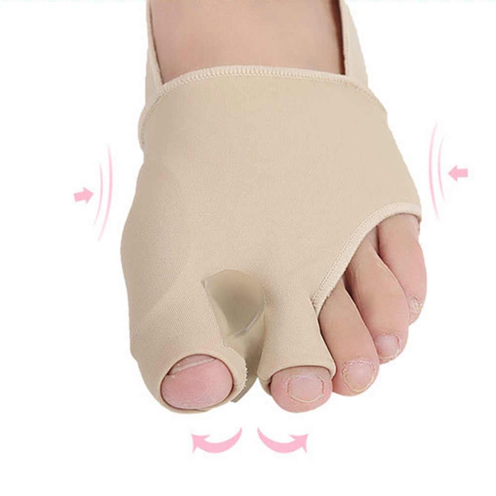 1 pair Big Toe Borsite Splint Raddrizzatore Corrector Foot Pain Relief Alluce Valgo Resistente e morbido elastico SEBS Toe Raddrizzatore