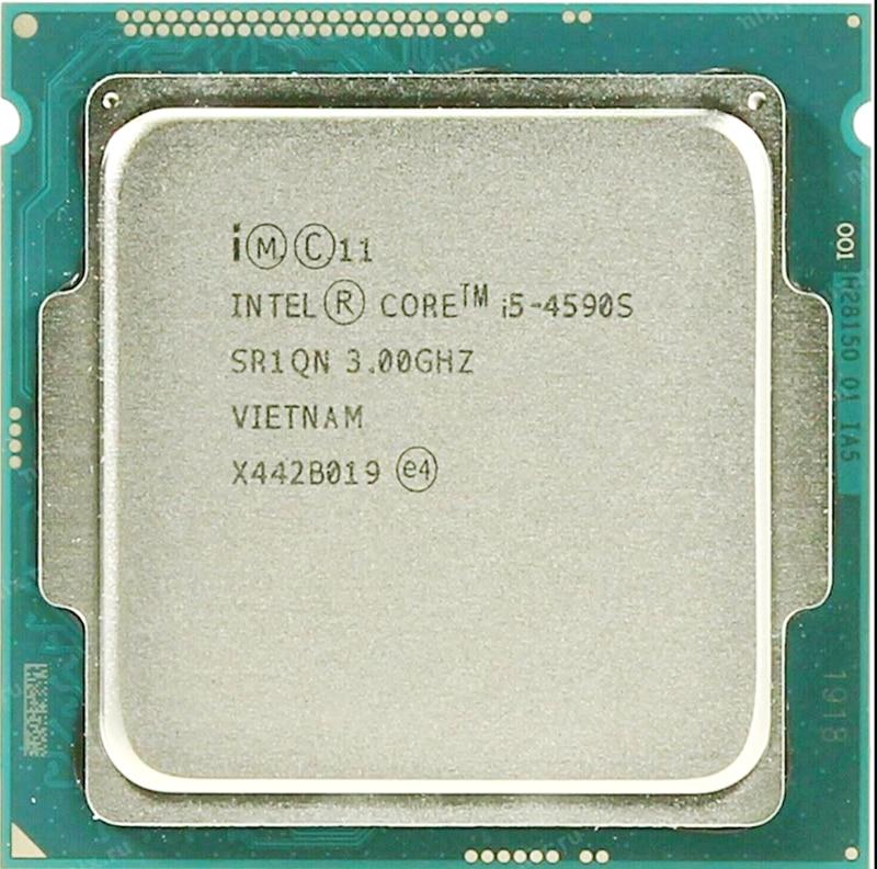 Intel Core i5 4590S i5 4590S 3 0GHz Quad Core 6M 65W LGA 1150 CPU Processor