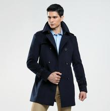 Double-breasted woolen coat men trench coats long sleeves overcoat mens cashmere coat casaco masculino england autumn winter single breasted woolen coat men trench coats long sleeves overcoat mens cashmere coat casaco masculino england autumn winter