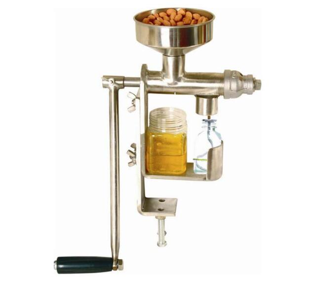 Oil Press Machine Manual Stainless Steel Home Freeshipping Olive Oil Presser Nut Seeds Peanut Mill ExpellerOil Press Machine Manual Stainless Steel Home Freeshipping Olive Oil Presser Nut Seeds Peanut Mill Expeller