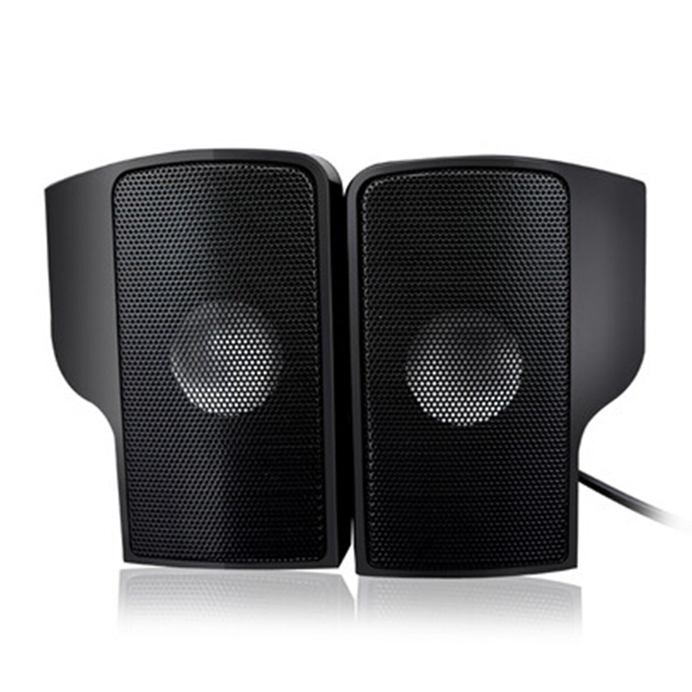 USB Clip Screen Computer Speaker Compact USB Wired Laptop Stereo Soundbar for Laptop Computer PC Desktop Tablets in Computer Speakers from Consumer Electronics