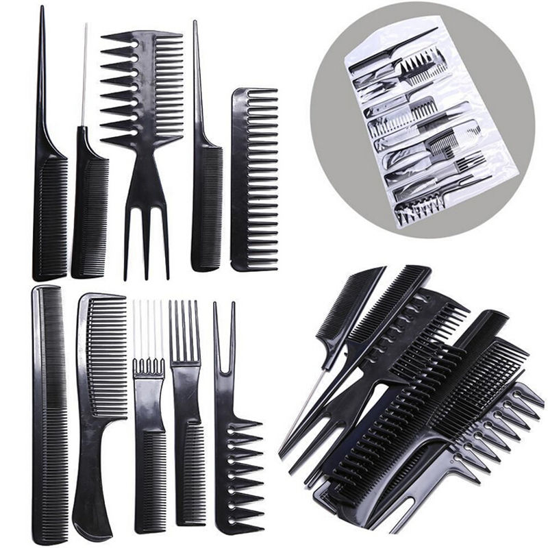 Home Appliances Practical Barber Hair Razor Comb Scissor Tools Bangs Brush Hairdressing Trimmers Hair Shaving Blades Cutting Thinning Beauty Styling Top Watermelons