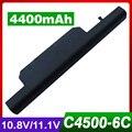 4400 мАч аккумулятор для ноутбука CLEVO B5100M C4500BAT 6 C4500BA T6 C4500BAT6 B4100M B4105 Шенкер mySN XESIA E500 B5130M A702