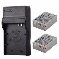 2PCS 1200mAh NB 10L NB10L NB 10L Li Ion Battery USB Charger For Canon G1X G15