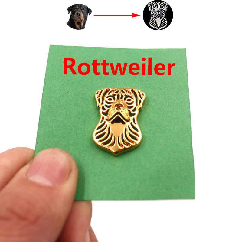 Mdogm 2019 Rottweiler เข็มกลัดและ Pins เครื่องประดับชุดน่ารักตลกโลหะขนาดเล็กพ่อคอป้ายของขวัญสำหรับชายชาย B040