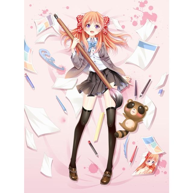 Preferred New Arrival150*200cm Japanese cartoon anime Monthly Girls' Nozaki  TC41