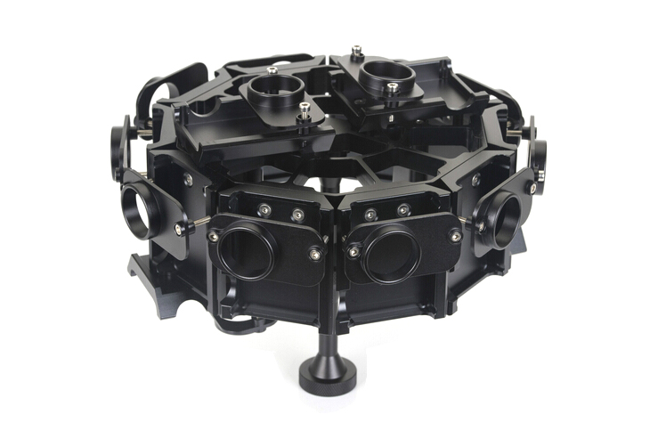 F15837 14 pcs Cameras Cage Protective Case 360degree Panoramic Bracket Gimbal Tripod for Gopro Hero 4 3+ DIY Aircraft Aerial