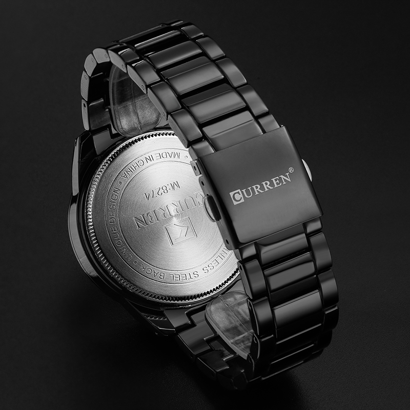 Image 5 - New Curren Luxury Brand Watches Men Quartz Fashion Casual Male Sports Watch Full Steel Military Watches Relogio Masculinomasculinomasculinos relogiosmasculino watch -