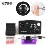 ROSALIND Electric Manicure Drill New Arrival Nail Art Equipment Nail File Nails Accessories Drill EU Plug Nail Design