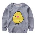 LM 2016 Brand New Spring Summer Kids T-shirt 100%Cotton Cute Duck Print Long Sleeves Boy's Girls Baby T shirt 20