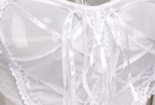 Nightwear Costumes Lace Net Ladies Sleepwear Dress
