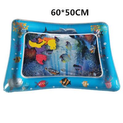 Новое Надувное детское водяное сиденье младенческий животик время игровой коврик для малышей забавная подвижная игра центр для сенсорной стимуляции мотора