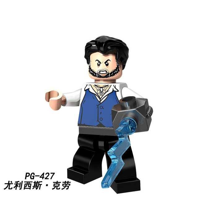Legoing Marvel Super Heroe Figures Bat Robin Harley Quinn Ulysses Black  Vulcan Nagia Building Blocks Kids Toys PG8111 Avengers 3