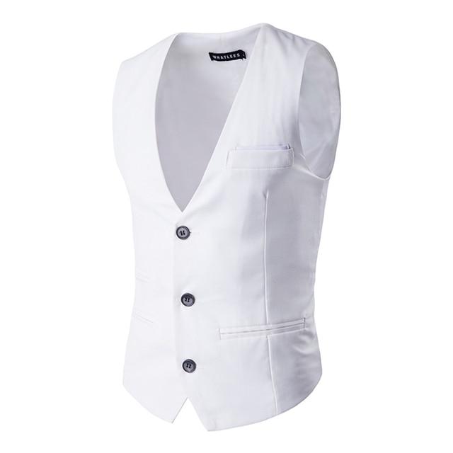 Mens Colete Vestido ocasional Slim Fit 2016 Venda Quente Homens Colete Colete de Outono E Inverno Quente Windbreak PM07