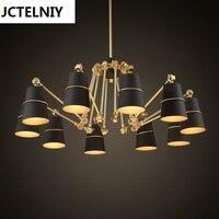 Подвесной светильник краткое индивидуальный большая Подвесная лампа паук lamparas colgantes