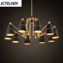 Pendant light brief personalized big pendant light spider lamp lamparas colgantes