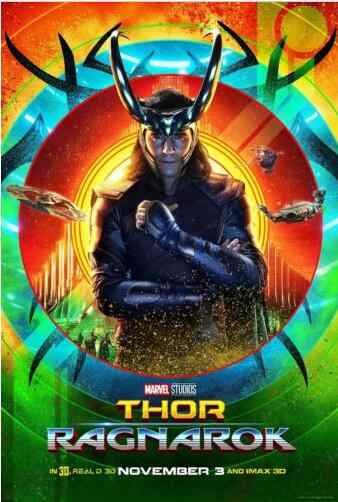 Thor Ragnarok Loki Tom Hiddleston SILK POSTER Decorative Wall painting 24x36inch 01