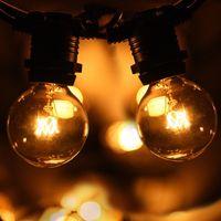 Promo AU SAA versátil exterior interior 10m G40 Festoon cadena luces para Navidad boda decoración iluminación