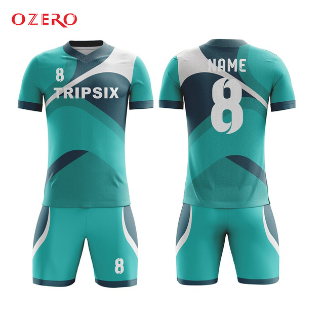 ef2bc83bb5cd Custom sublimation thailand short sleeve football shirts uniforms for teams authentic  soccer jerseys personalized sports jersey