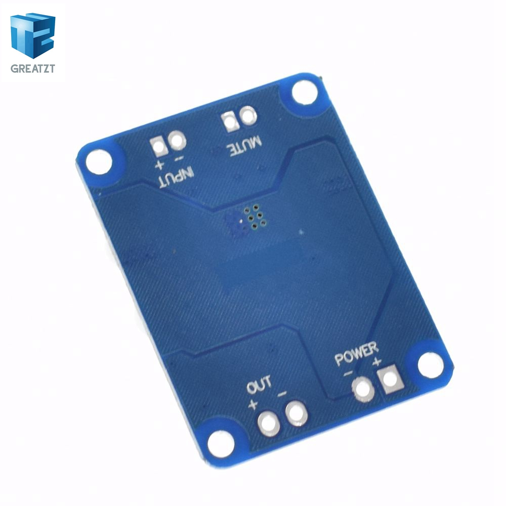 1pcs Dc 12v 24v Tpa3118 60w Mono Digital Audio Power Amplifier Board Btl With Volume C Nxp Amp Module In Integrated Circuits From Electronic Components Supplies On