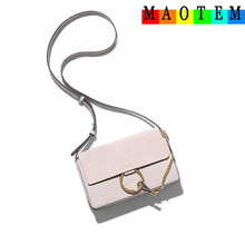 MAOTEM Factory Price!Scrub IT Bags for Women 2017,Women Genuine Leather Messenger Bag,High Quality Crossbody Bags for Women