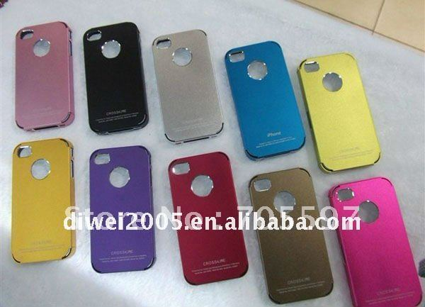 Fashion design metal/aluminium case for iphone4 4S