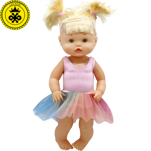 Doll Clothes Fit 33-35 cm Baby Doll Cute Princess Dress Suit Doll Accessories 628