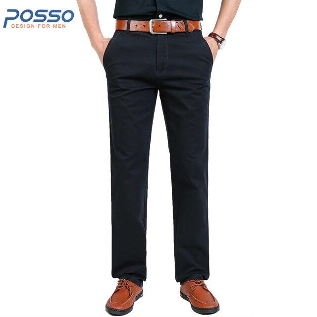 5148d70bb2305f € 33.01  Plus la Taille 31 44 Automne Travail Pantalon Hommes Épais Coton  Slim Fit Multi Poche Pantalon Bureau Cargo Pantalon Plaine solide ...
