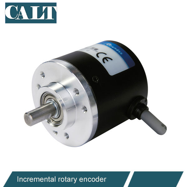wholesale Optical Incremental Rotary Encoder line driver output 38mm outer 6mm shaft similar to Omron E6B2 encoder 1pcs e6b2 cwz3e 500p r 2m encoder for omron 500 line incremental rotary encoder mini abz 3 phase encoder dc5 12v