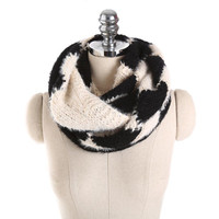 Women Winter Scarf Knitted Ladies Patchwork Warm Collar Scarves Collar Neck Warmer Crochet Ring Snood Bufandas