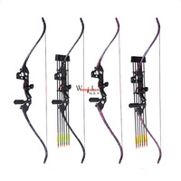 Professional Match 60 inches CS War Game Bow and Arrow Set Outdoor Hunting Archery Shooting Game