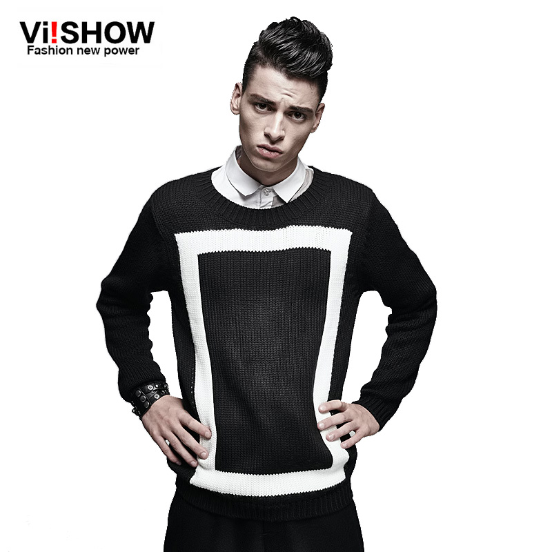 VIISHOW Famouse Brand Clothing mens sweaters geometric stylish casual mens sweaters wool pullover men