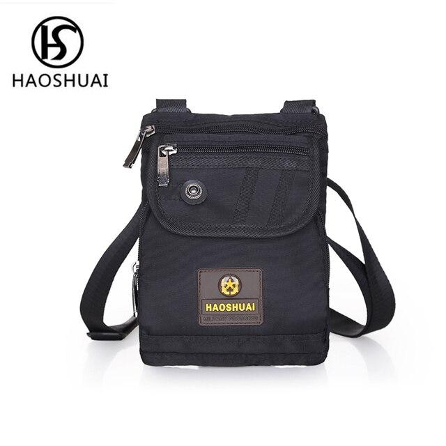 af673632a4541 Mini umhängetasche reise sicherheit tasche gürtel crossbody taschen für  männer handtaschen schwarz casual sling umhängetasche mann